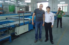 阿尔及利亚脚垫生产线